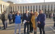 митинг в поддержку г. Санкт-Петербурга в связи с террактом 3 апреля 2017г.